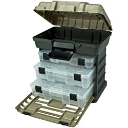 Plano Molding 1363 Stow N Go Toolbox, Graphite Gray and Sandstone
