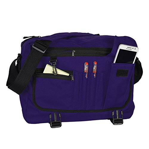 Umhängetasche Messenger Tasche Kindertasche Freizeittasche Schultertasche mit Veri Logo lila bsYqQxk