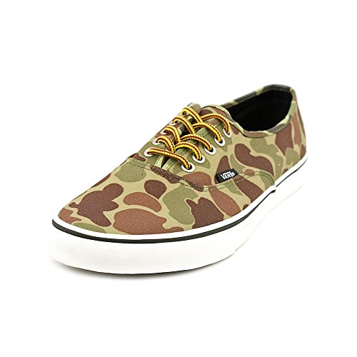 Donna Marron Noir U Vans Camouflage da Authentic Vert Sneakers Wgx4AqvI