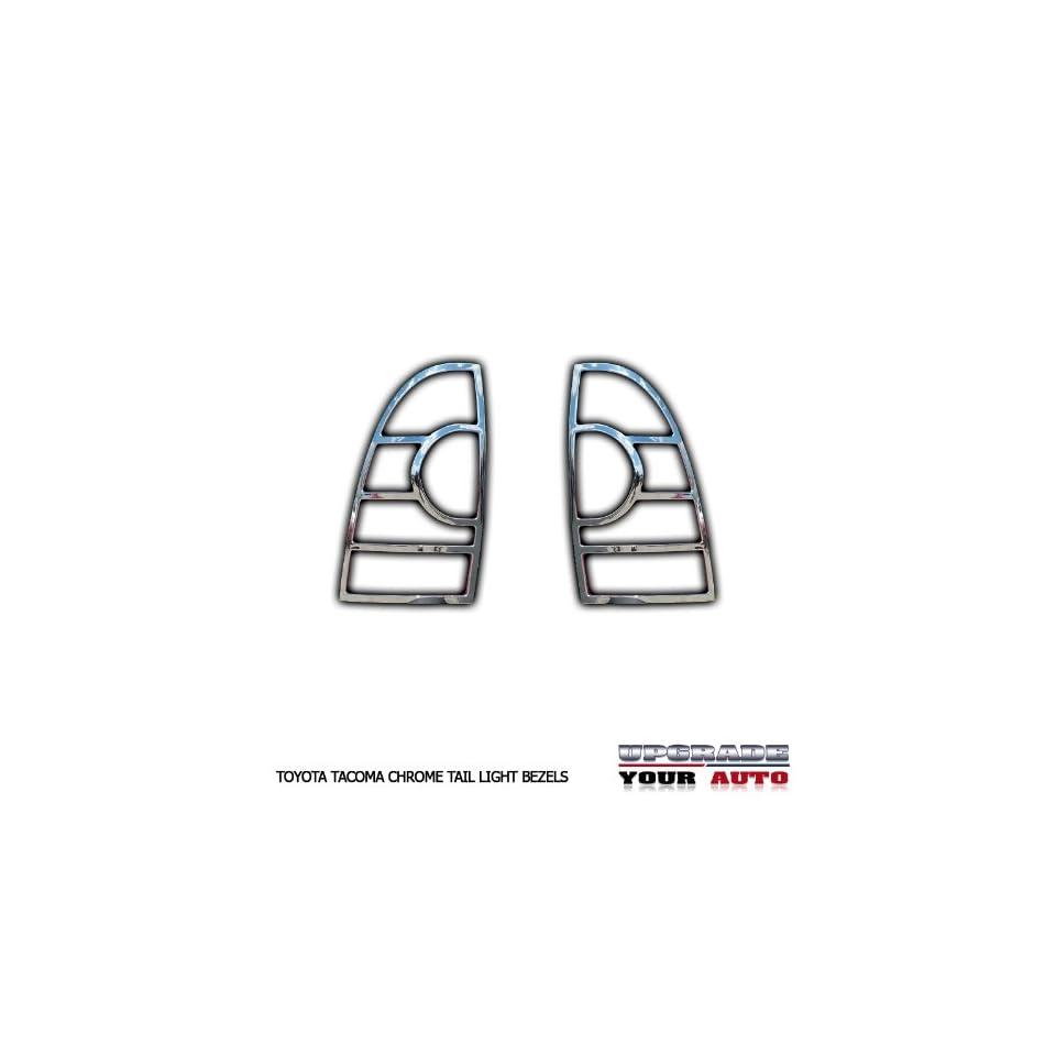 2005 2013 Toyota Tacoma Chrome Tail Light Bezels