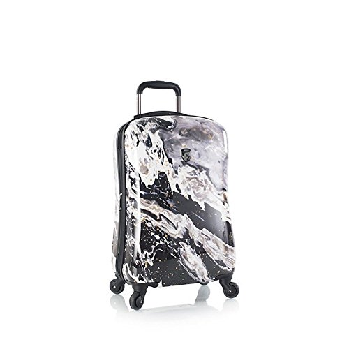heys-luggage-21-inch-spinner-carry-on-suitcase-nero-marble-stone-print