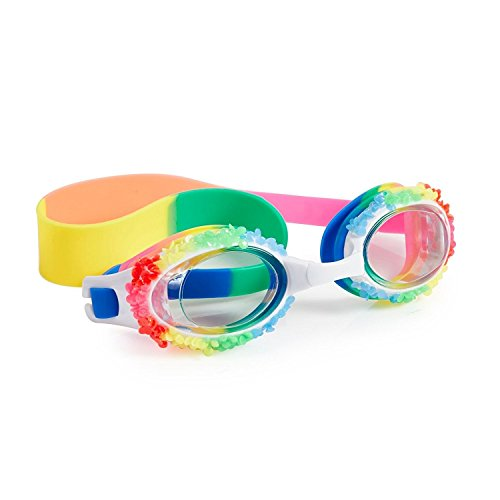 Swimming Goggles For Girls - Shaved Ice Rainbow Swim Goggles By (Rainbow Goggles)