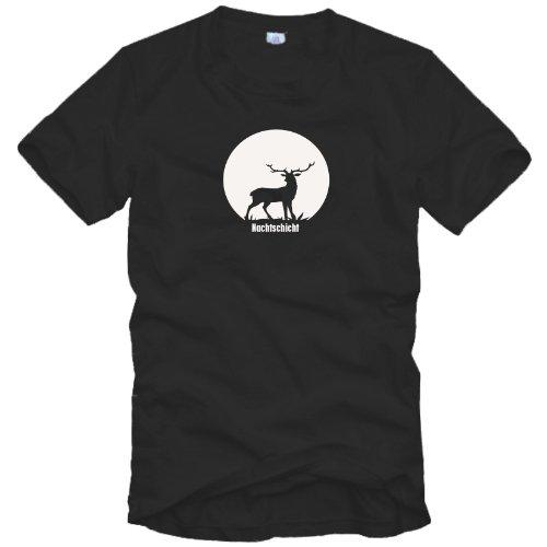 Jäger T-Shirt - Nachtschicht - Gr. S bis 3XL