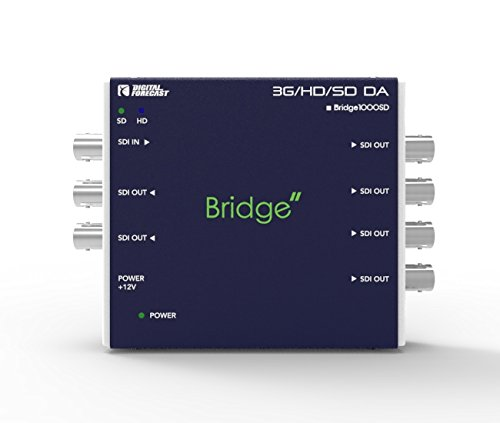 3G/HD/SD SDI Distribution Amplifier : Digital Forecast Bridge1000_SD Converter by Bridge1000_SD