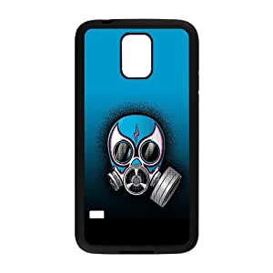 Gas Mask Vector 0 Samsung Galaxy S5 Cell Phone Case Black persent xxy002_6898140