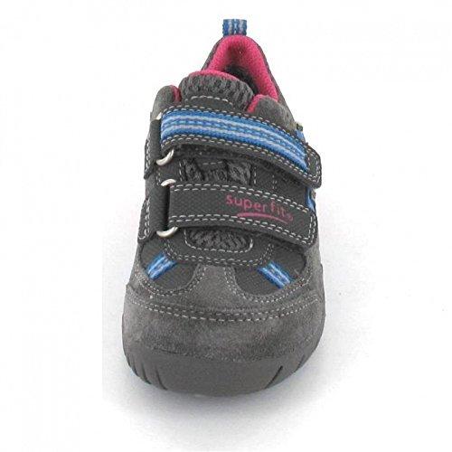 Superfit - Zapatillas de Piel para niño Gris gris