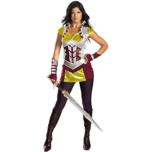 [Thor Movie - Sif Deluxe Adult Costume Size Large (12-14)] (Lady Thor Costumes)