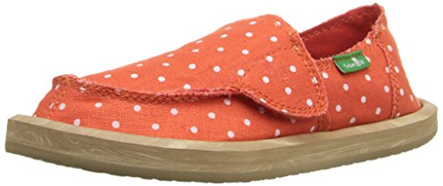 Hot Kid Dotty Flat Sanuk Dots Kid Big Flame Little Kids Natural U5EqnnpX
