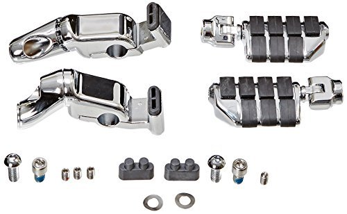 Kuryakyn 4073 Ergo II Cruise Mount with Mini Arms and Dually ISO-Pegs by - Ergo Wing Iso