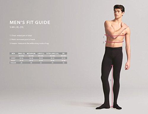 Capezio Men's Basic Pant With Elastic Waist