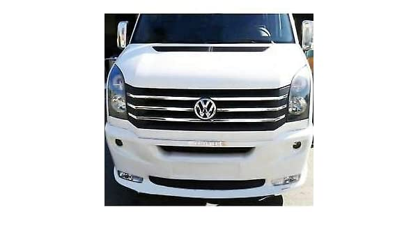 VW Crafter Front Grill Chrome Trim Cover 2012-2017 S Steel 6 pcs