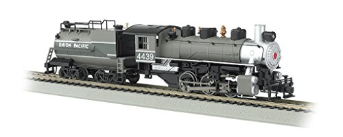 Bachmann Industries Trains Usra 0-6-0 With Smoke & Vanderbilt Tender Union Pacific #4439 Ho Scale Steam Locomotive (2 Pacific Steam Locomotive)