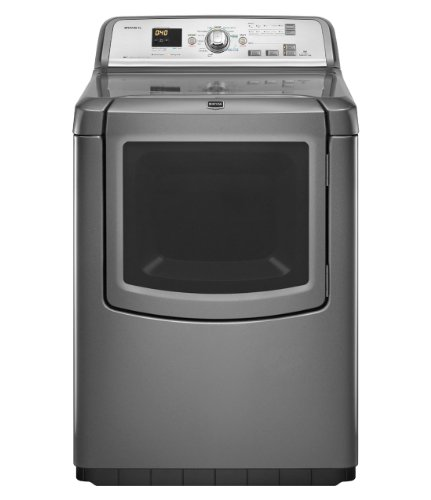 Maytag MEDB850YG Bravos 7.3 Cu. Ft. Cutlery With Steam Cycle Electric Front Load Dryer
