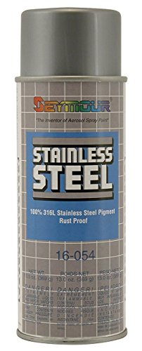 Stainless Steel Rust Protective Spray Paint - STAINLESS STEEL SPRAY 16 Oz. Can, 13 Oz. Net (Steel Paint Cans)