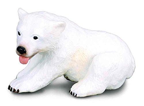 - CollectA Polar Bear Cub (Sitting) Figure