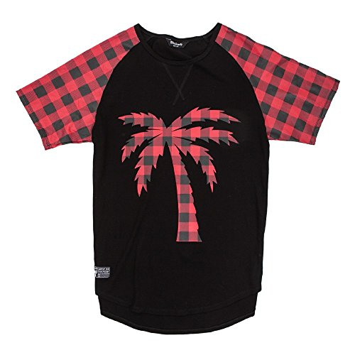 Blvd Supply Tree Plaid Scalloped (Plaid Motorcycle Jersey)