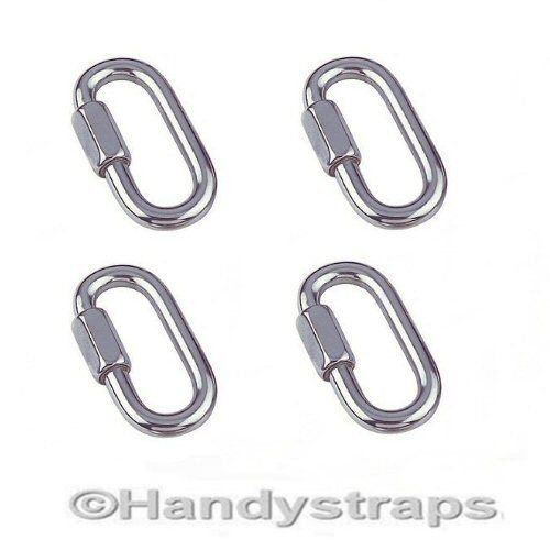 4 x 8mm Quick Repair Link Marine Stainless Steel HandyStraps