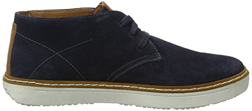 Josef Seibel Herren Quentin 09 Hohe Sneaker Blau (Jeans-Kombi)
