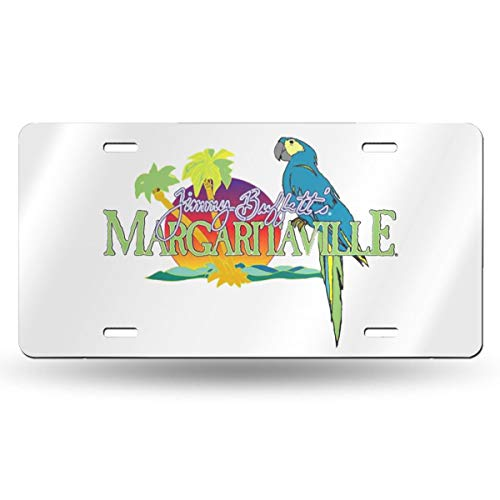 Haiqings Jimmy Buffett Funny Metal Aluminum License Plate 12Ã-6 Inches