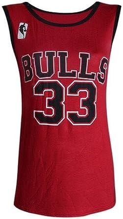BusyBug - Camiseta sin Mangas - para Mujer Rojo Rosso: Amazon.es ...