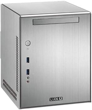 Lian Li Caja HTPC PC-Q03A, plateado: Amazon.es: Electrónica