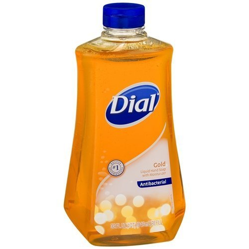 Dial Gold Liquid Antibacterial Hand Soap Refill 32 oz (pack of (Gold Soap Refill)