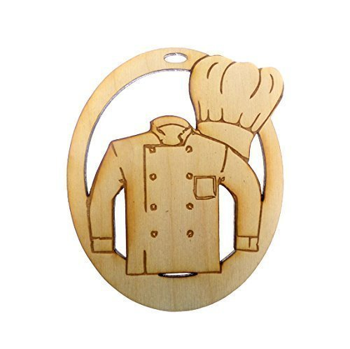 Amazon.com: Personalized Chef Ornament - Chef Gifts - Chef Christmas ...