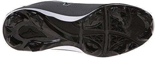 Mizuno Herren Advanced Blaze Elite 5 Low Baseballschuh Grau schwarz