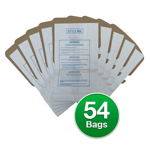 EnviroCare Replacement Vacuum Bags for Eureka Style MM Eureka Mighty Mite 3670 and 3680 Series Canisters 54 Bags
