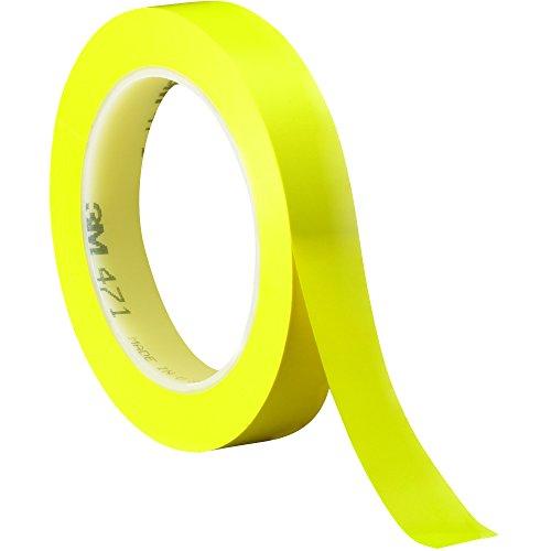 471 Marking Tape - BOX BT9644713PKY Yellow 3M 471 Vinyl Tape, 36 yd. Length, 0.75