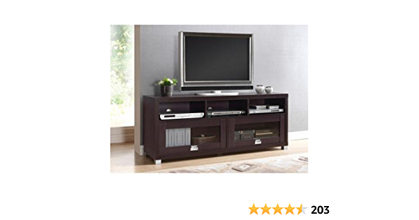 Durbin Espresso Tv Stand For Tvs Up To 65 Home Audio Theater