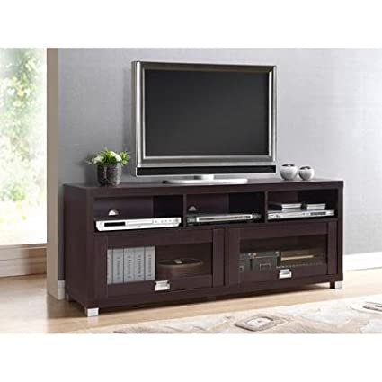 finest selection e8a64 3cb2b Durbin Espresso Tv Stand, for Tvs up to 65