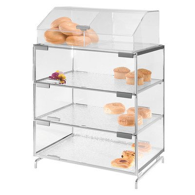 """CAL-MIL PC300-39 3 Level Pastry Display Case, 20"""" Height,..."""
