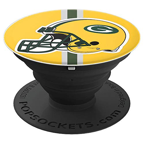 Green Bay Football Green Bay Team PopSockets Grip and Stand for Phones and Tablets