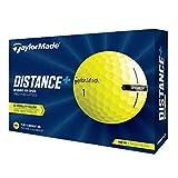 2021 TaylorMade Yellow Distance+ Golf Balls