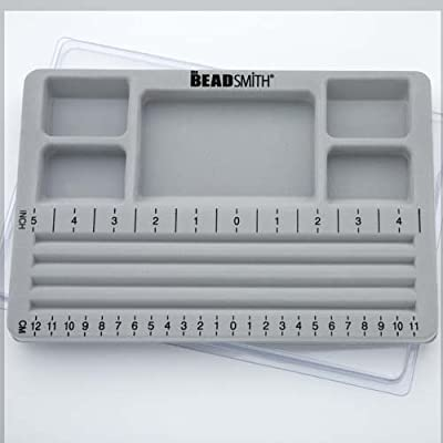 Mini Bead Board w/Lid, 3 Straight Channel (7.75x11.25in) - BBS3