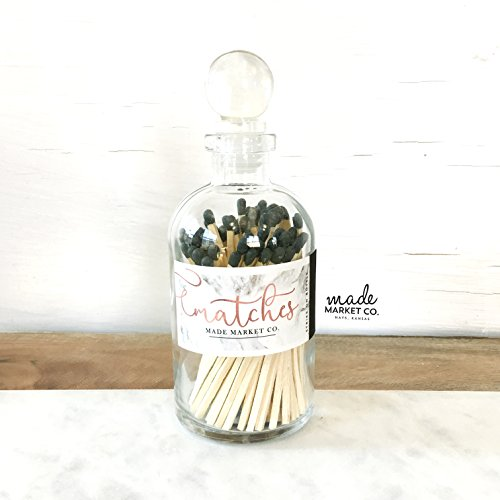 tches. Match Sticks Ball Glass Top Bottle. Farmhouse Home Decor. Unique Gifts for her. Best Seller Most Popular Item ()