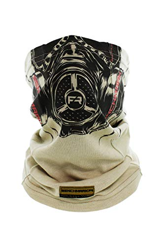 - Flame Resistant Face Mask Neck Gaiter, USA Made, 6.4 Cal, Lightweight, Soft FRC (Biohazard Face Gaiter (Beige)