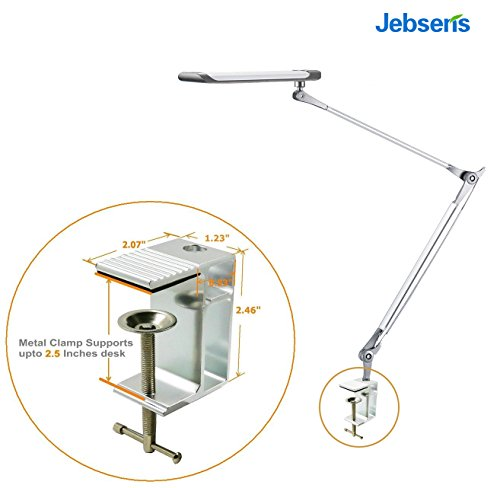 Jebsens Z6 Metal Architect Swing Arm Desk Lamp Dimmable