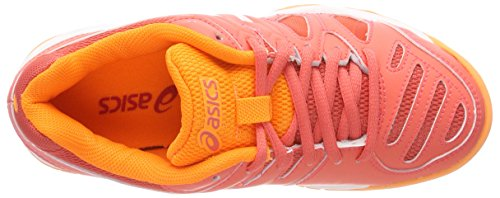 Asics Gel-Game 5 GS, Zapatillas de Tenis Para Niños Naranja (Coralicious/white/orange Pop 3001)