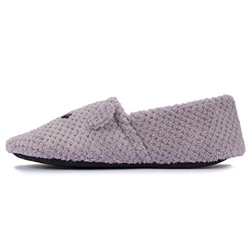 Pantuflas para mujer Isotoner Malva