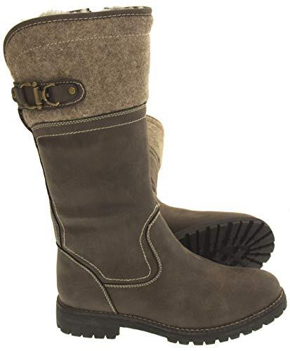 Stivali Polpaccio Marrone Di Footwear Keddo Donna Metà Pelle Studio Faux q88ap16tW