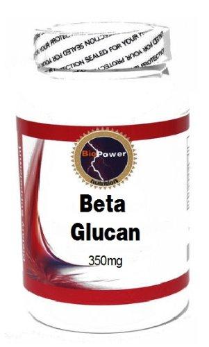 Beta Glucan 350mg 180 Capsules #BioPower -