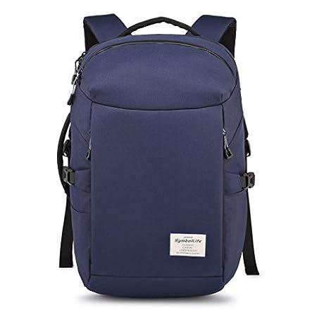 SymbolLife Water Resistant Backpack Travel Duffel Bag Hiking Bag Camping  Bag Rucksack Laptop Bag Sports Bag Gym Bag Weekend Bag School Bag Messenger  Bag ... ca5ffcdfab