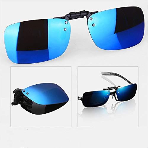 Gafas del Conductor polarizadas Sol C de visión Hombres de conducción de Sol los Gafas con KOMNY de miopía de de Clip C Sol Gafas Nocturna UtHAUwq7