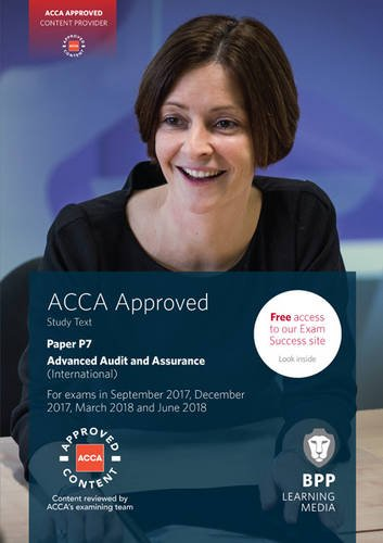 ACCA P7 Advanced Audit and Assurance (International): Study Text