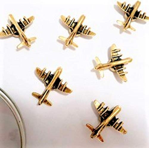 Norma Jean Designs Decorative Airplane Magnets Set of 6PC MG-609AG