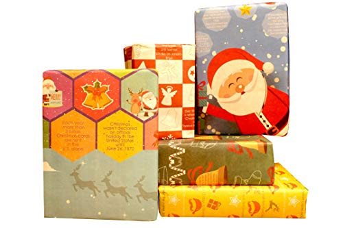 Top assorted xmas gift wrappers