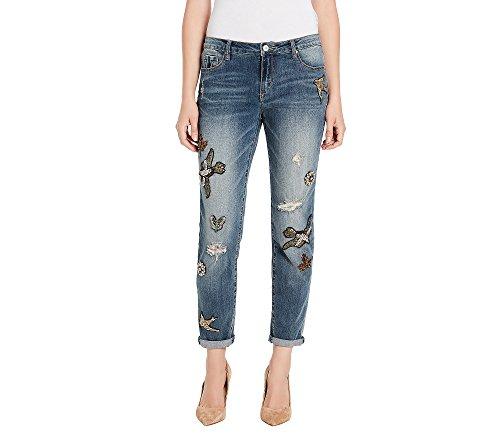 Vintage America Blues gratia Bestie Jeweled Jeans Spencer (Jeweled Womens Jeans)