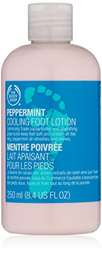 The Body Shop Peppermint Cooling Foot Lotion, 8.4-Fluid Ounce